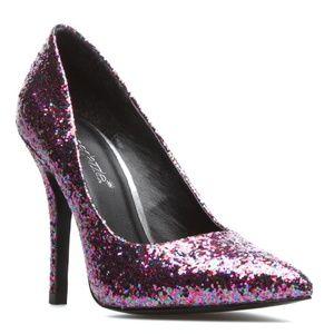 NWOT Shoe Dazzle Kiana Glitter Point Toe Pump 6.5